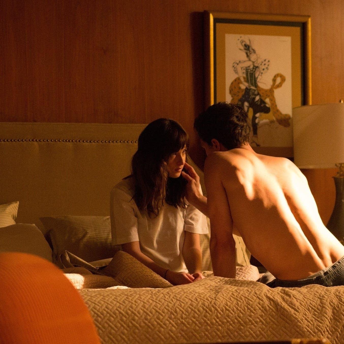 Dakota Johnson and Jamie Dornan in 'Fifty Shades o