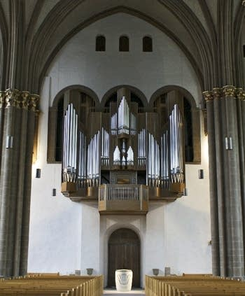1996 Kuhn organ at the Mindener Dom, Germany