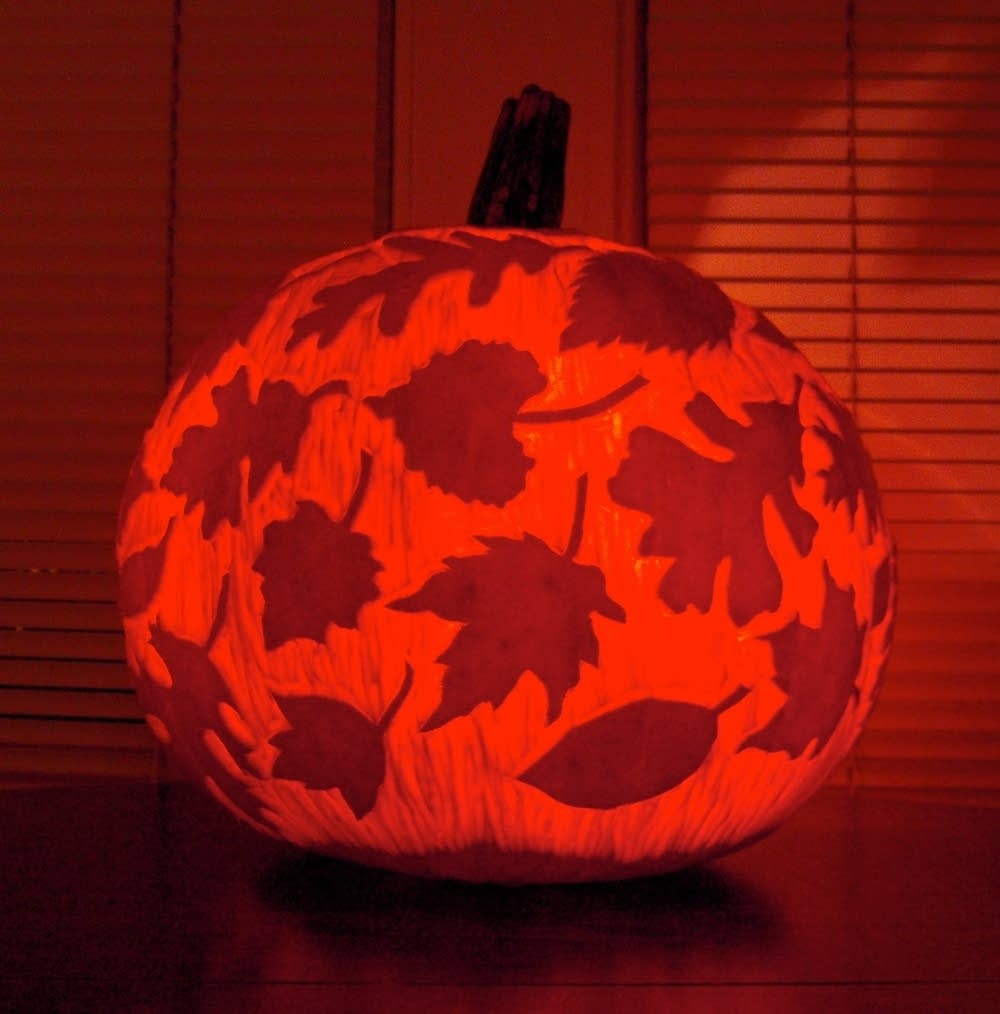 A pumpkin design to 'fall' for