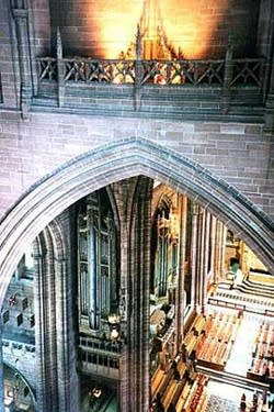 1926 Henry Willis & Sons organ at Liverpool Cathedral, England, UK