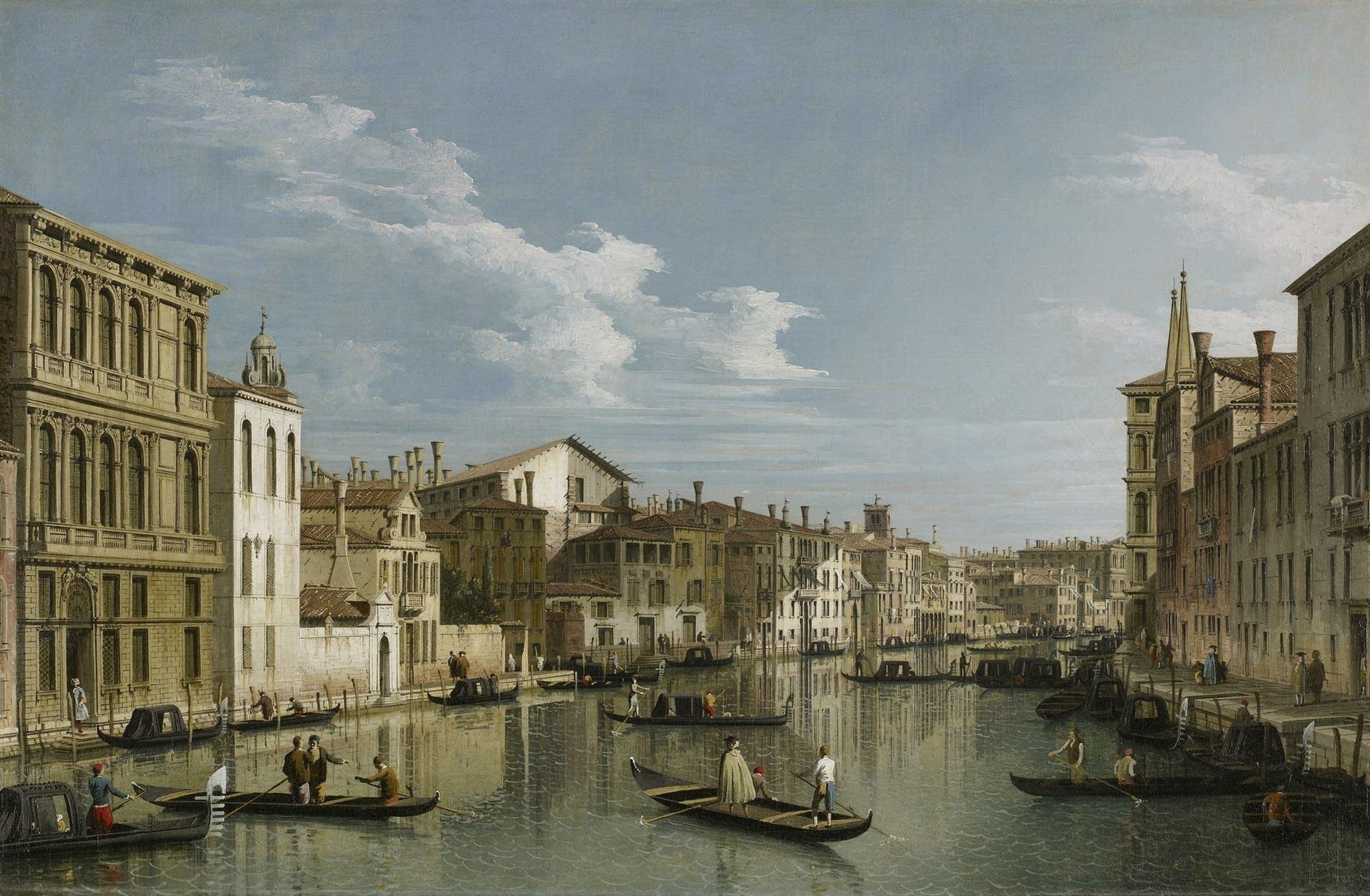 Giovanni Antonio Canaletto, The Grand Canal in Venice