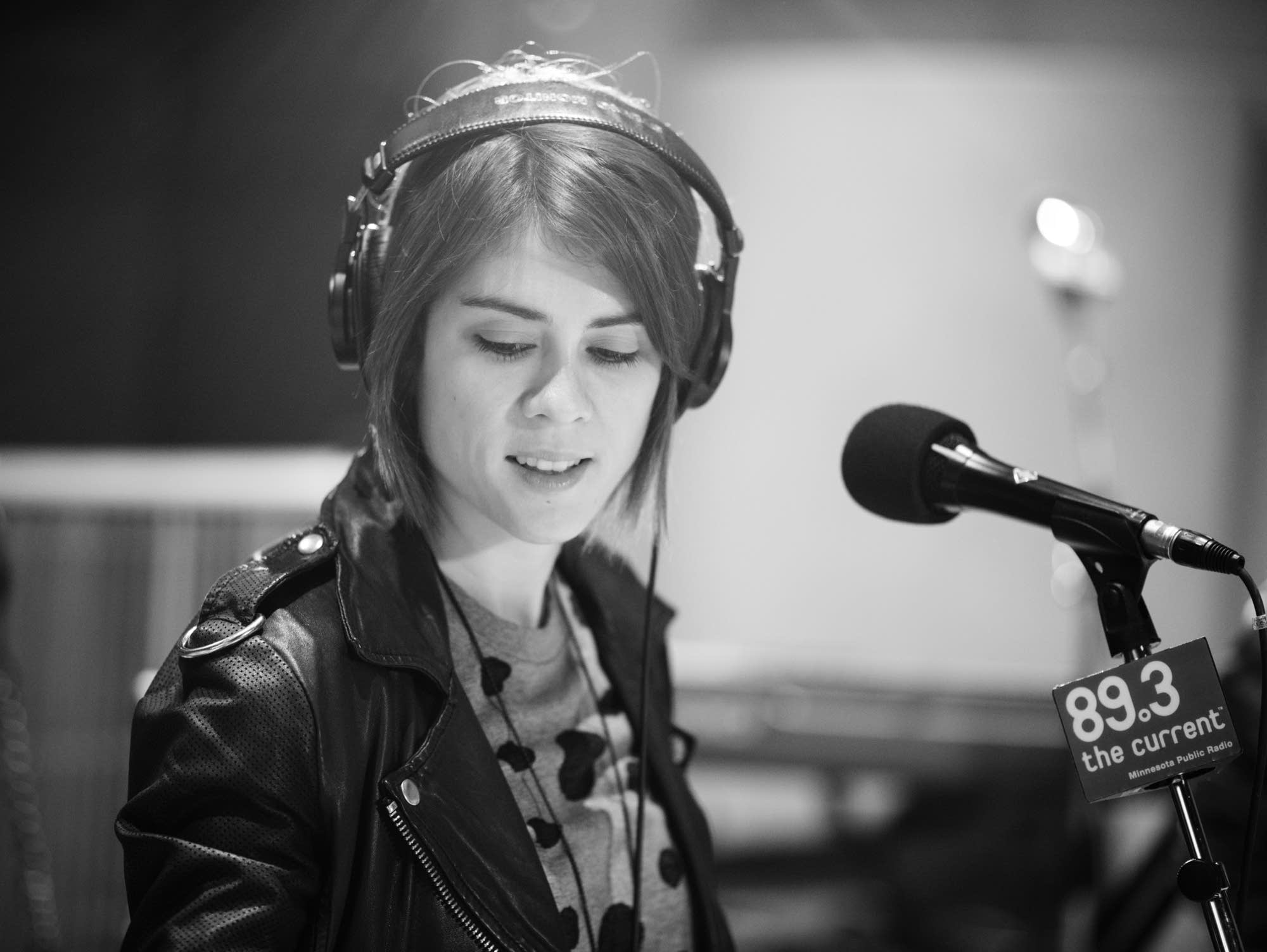 Tegan Quin, of Tegan and Sara