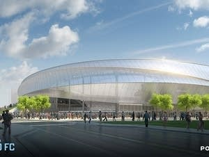The stadium expected to open in 2018.