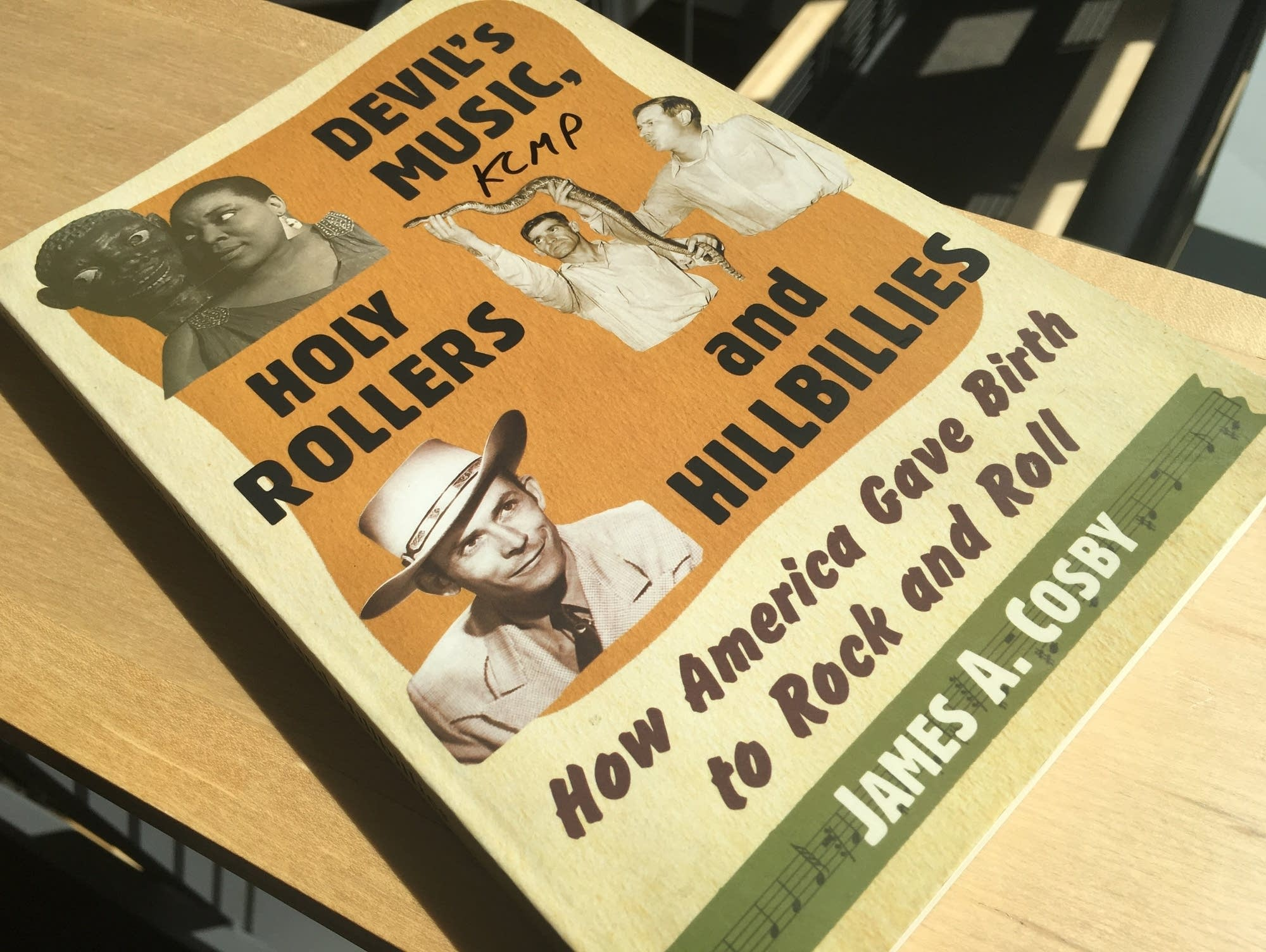 James A. Cosby's 'Devil's Music, Holy Rollers and Hillbillies'