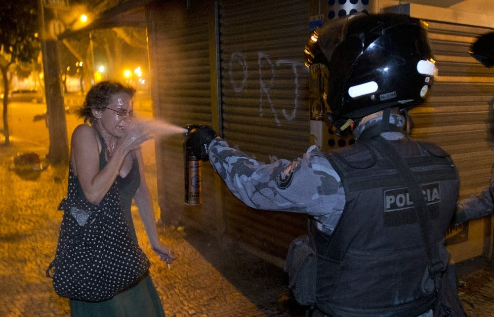 Protests in Rio