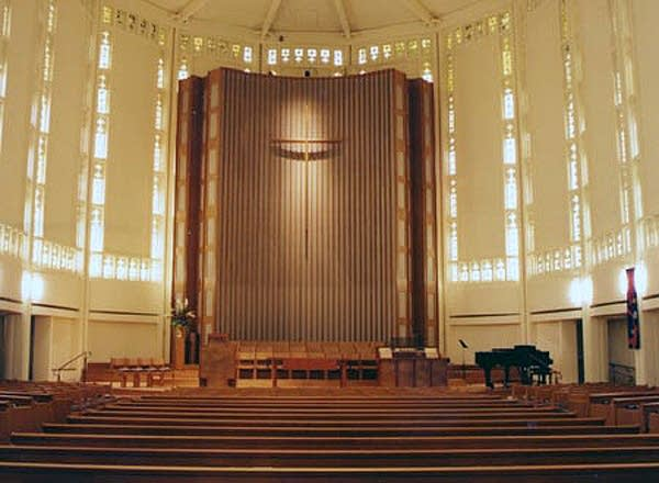 1967 Schlicker organ at Plymouth Congregational Church, Seattle, Washington