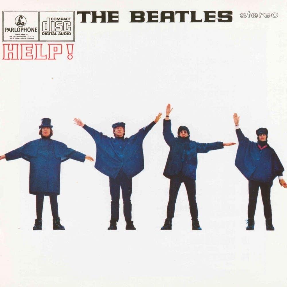 Beatles Help cover art