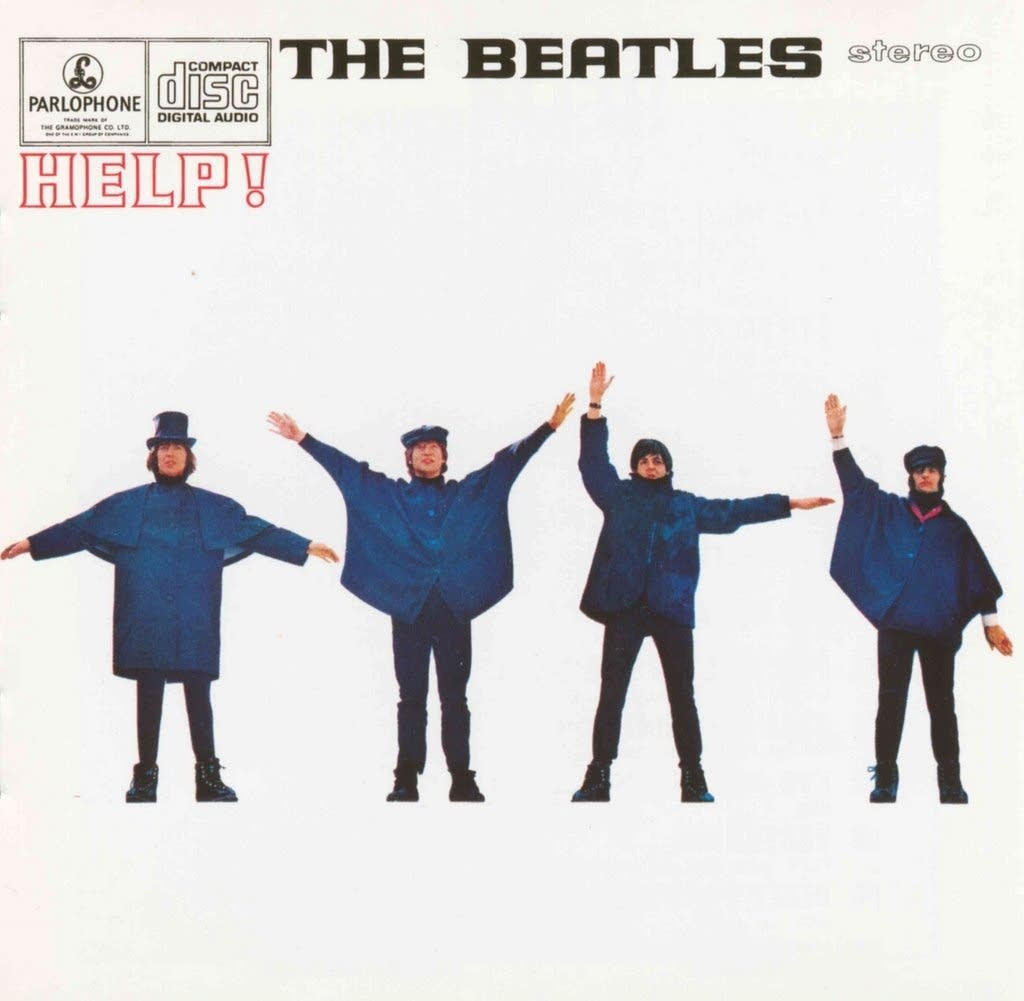 Beatles Help cover art