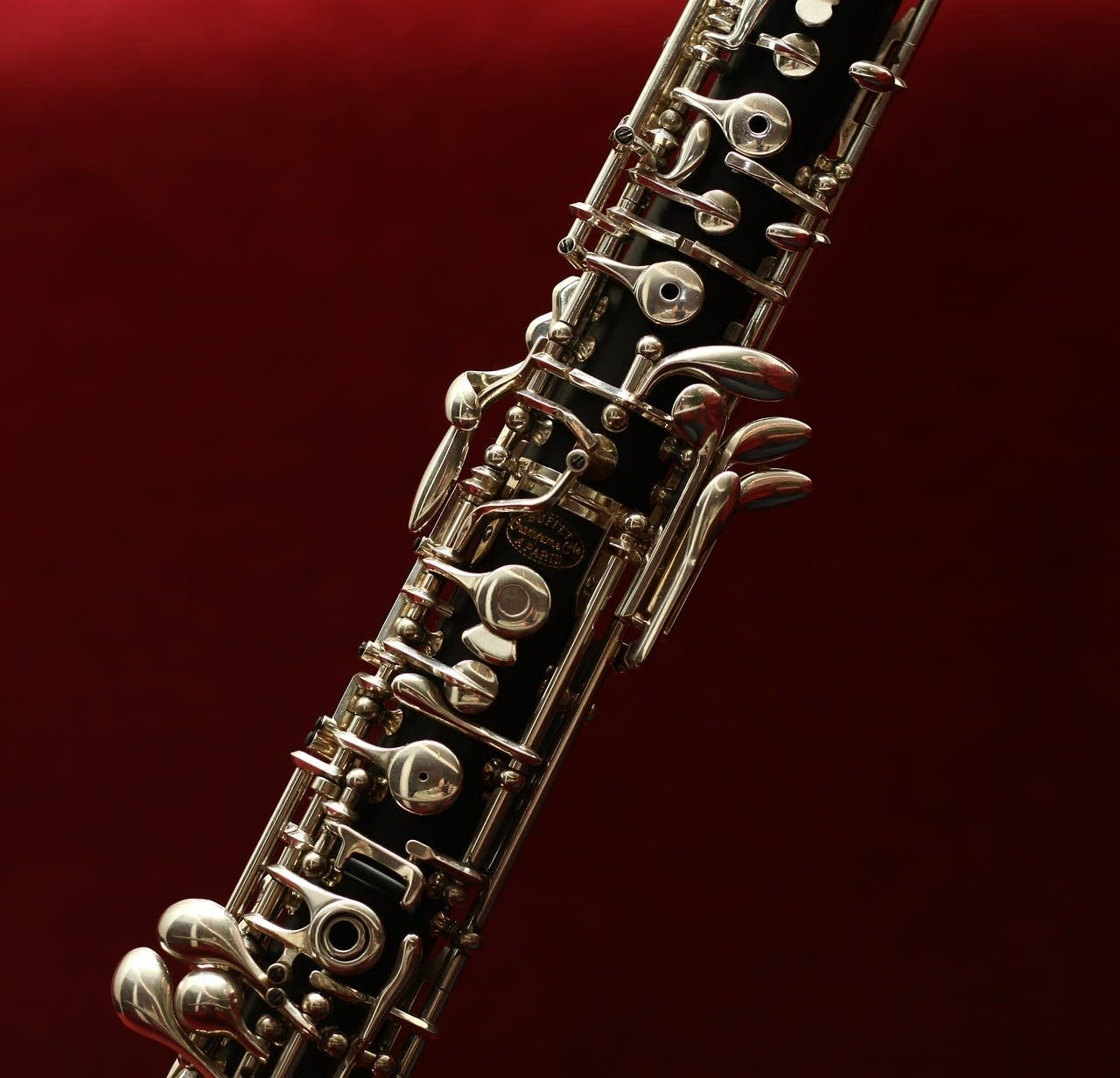 The oboe is part of the wind instrument family.