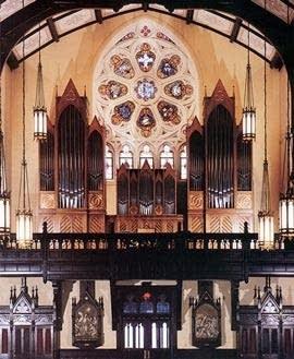1991 Noack organ at Sacred Heart Cathedral, Davenport, IA