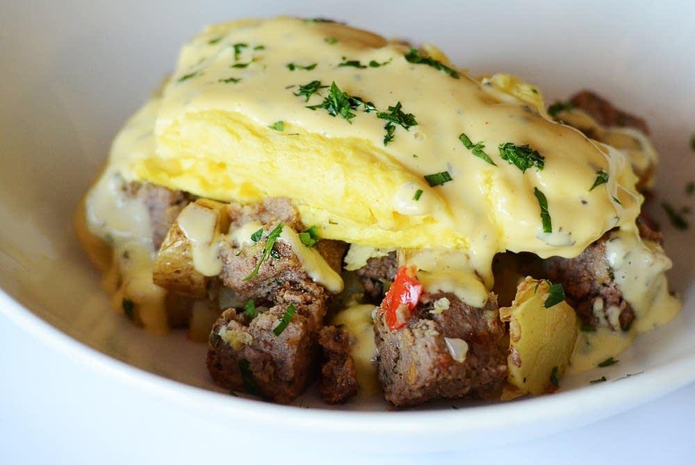 Meatloaf hash