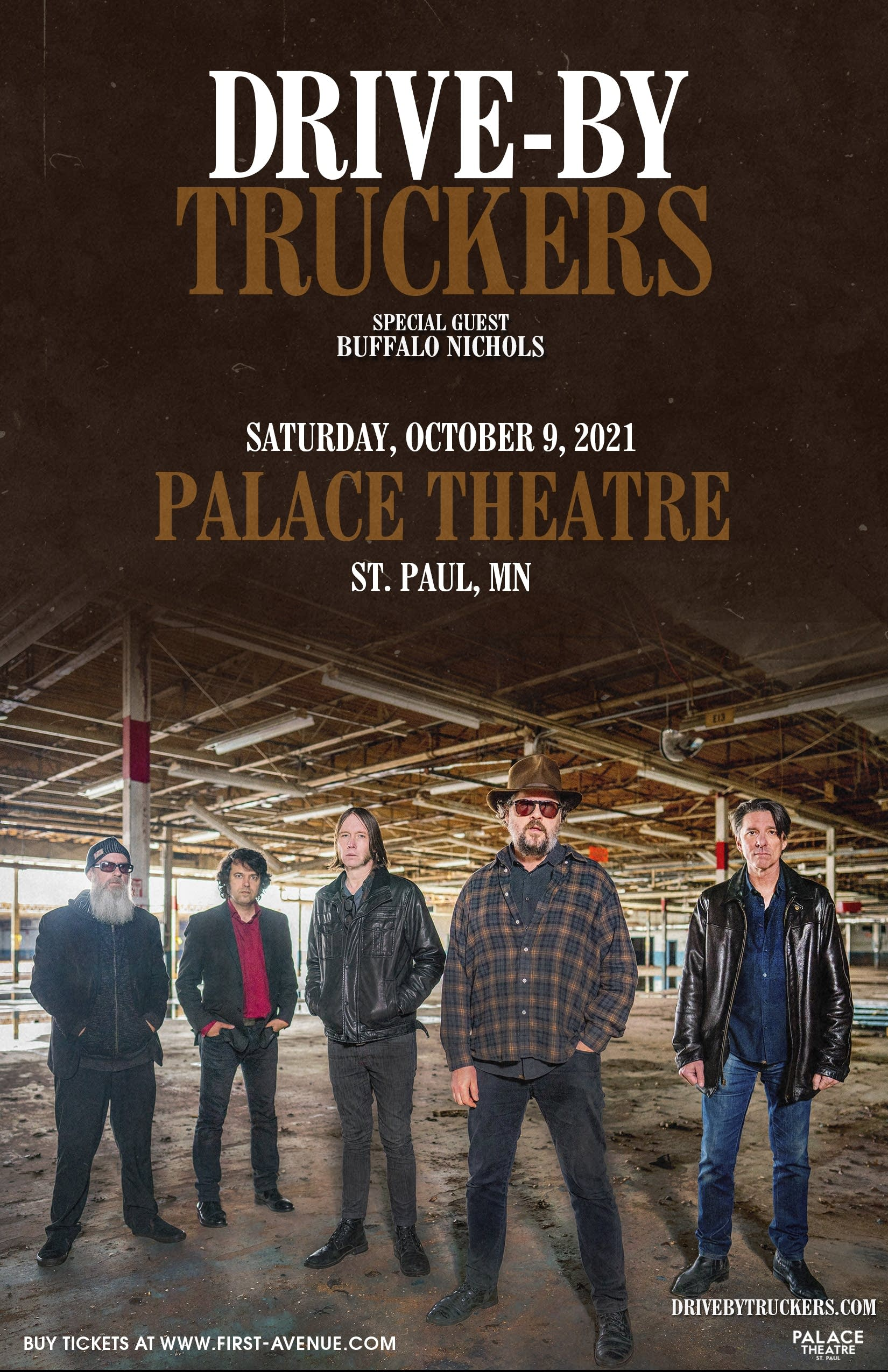 Drive-By Truckers at the Palace Theatre 2021