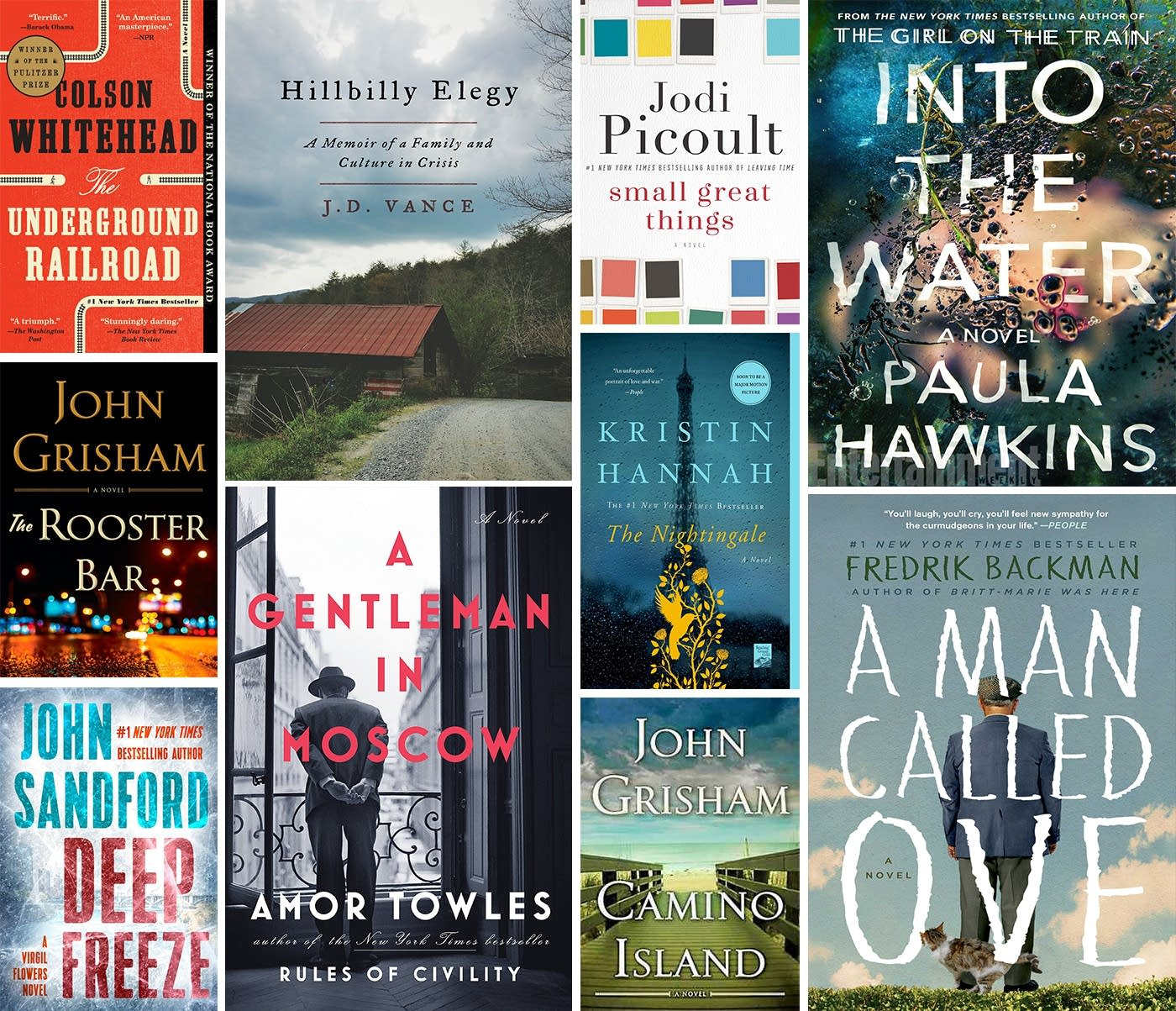 Hennepin County Library favorites for 2017