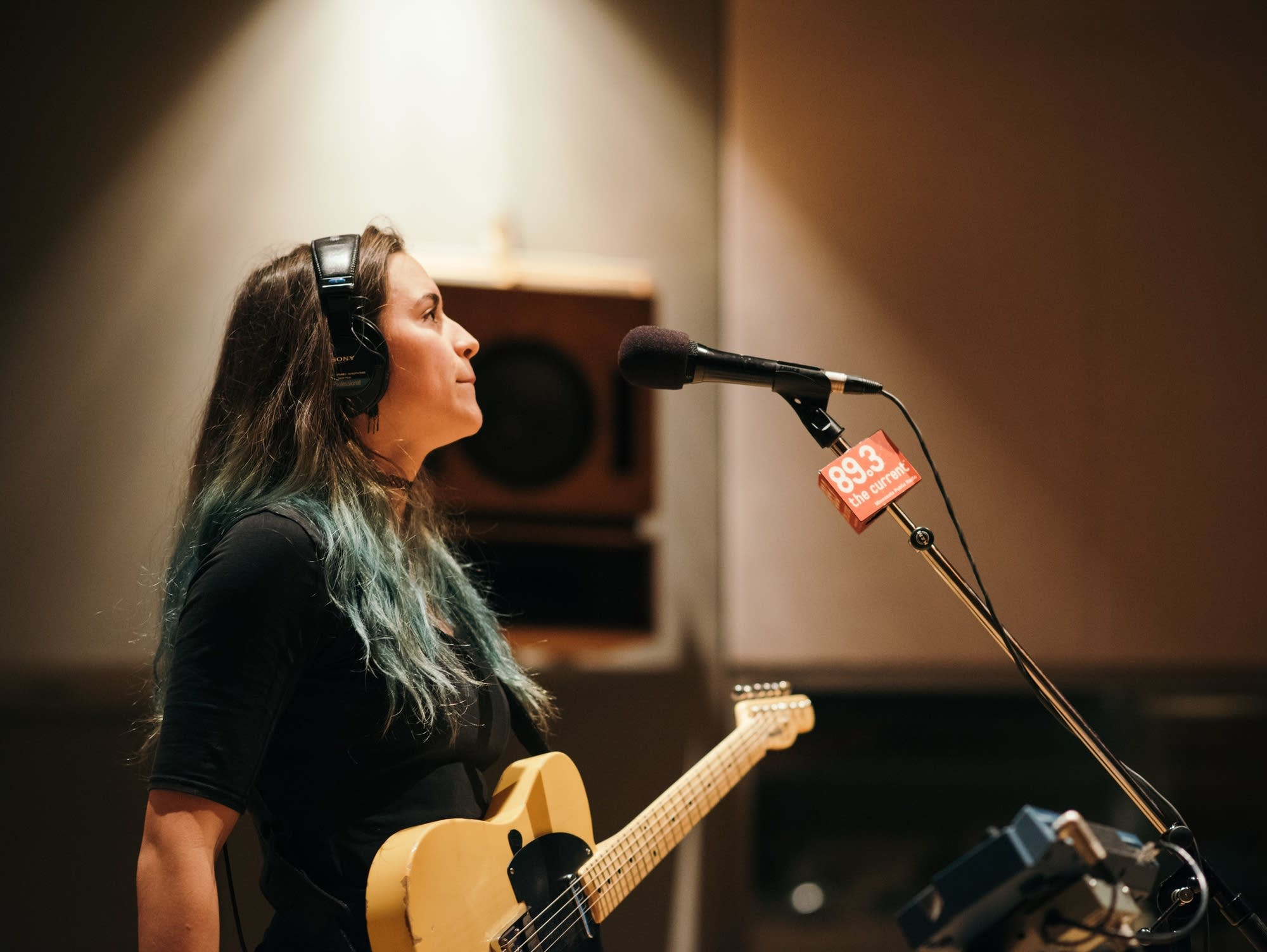 Tabah perform in The Current's studio