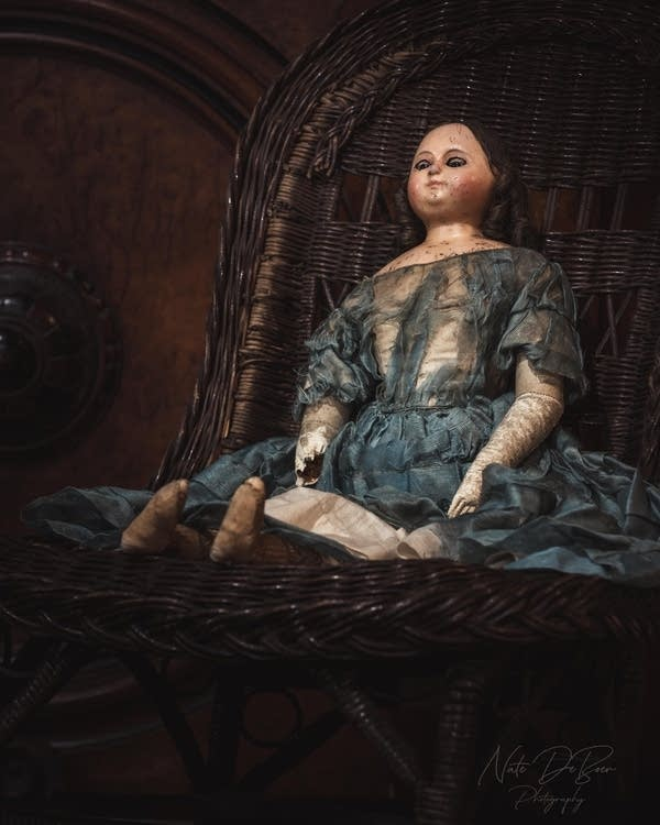 Creepy dolls on display at Rochester museum