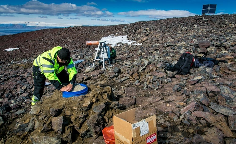 Updating seismometer and communication equipment