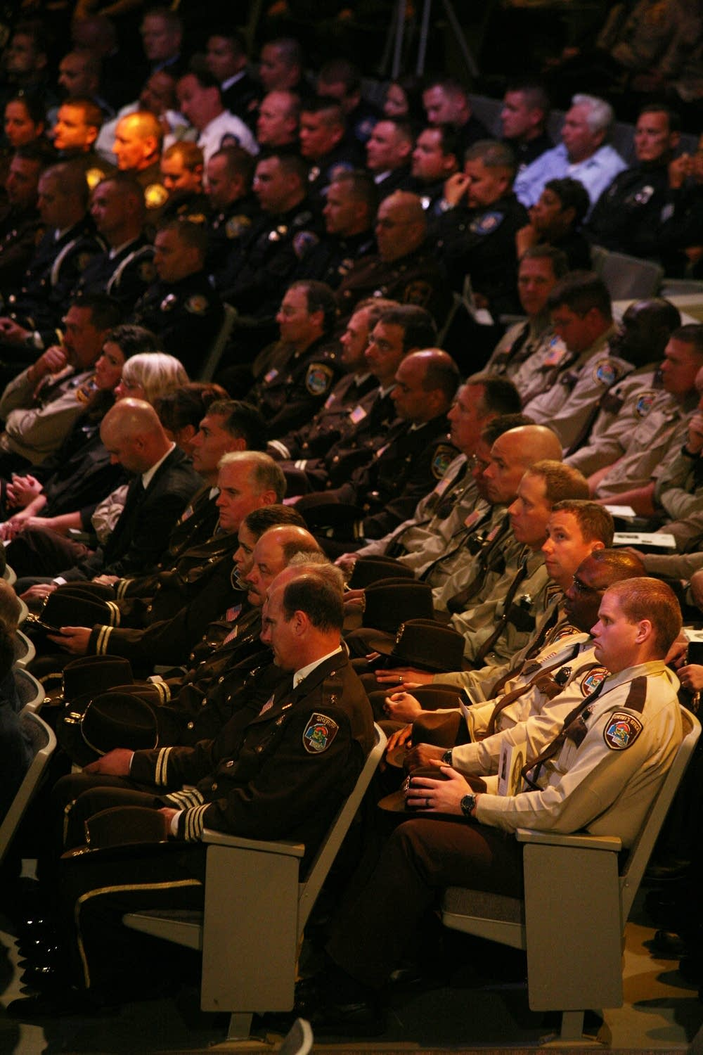 Hundreds of officers