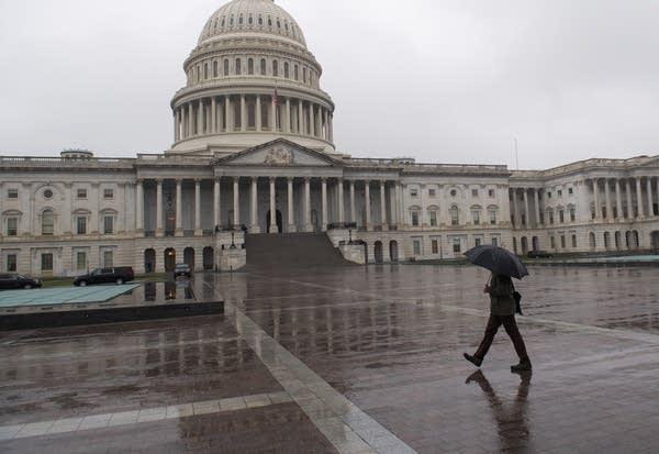 The U.S. Capitol is seen in Washington, D.C.