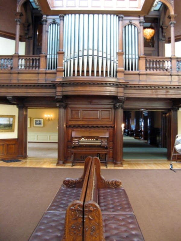 Hill House pipe organ
