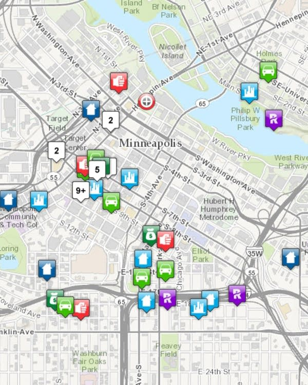 Mpls. unveils interactive online crime map | MPR News