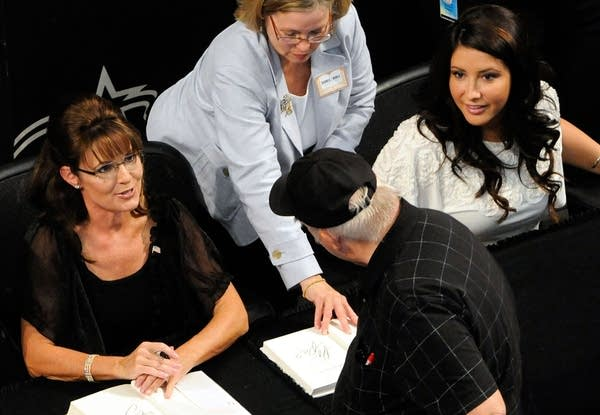 Sarah Palin, Briston Palin