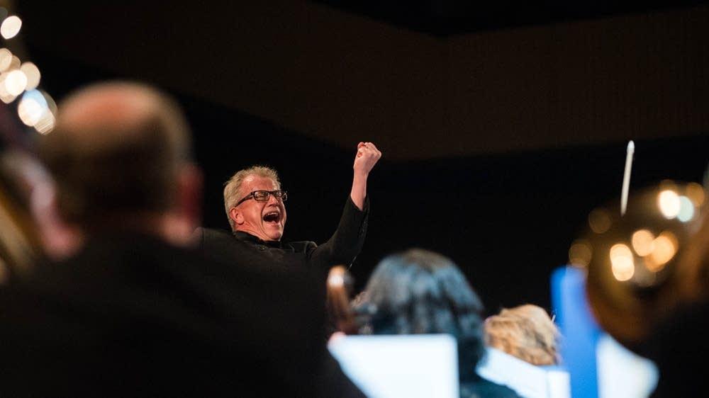 Osmo Vanska conducted the Minnesota Orchestra