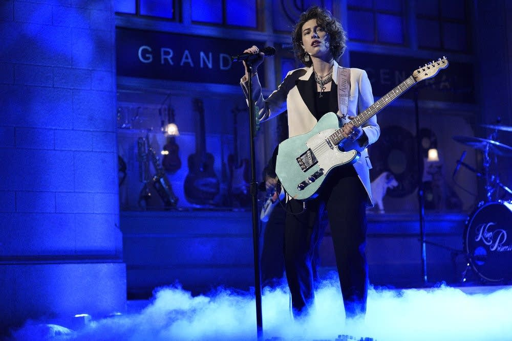 King Princess performs on 'Saturday Night Live'