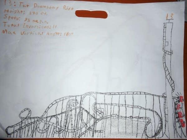 13: The Doomsday Ride by Ezra.