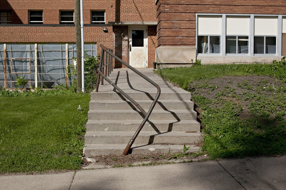 Old Morris school entrance