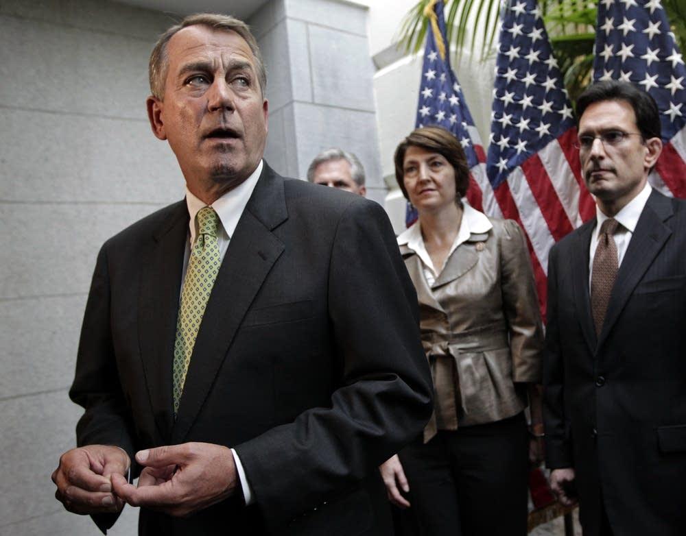 John Boehner, Eric Cantor, Cathy McMorris Rodgers