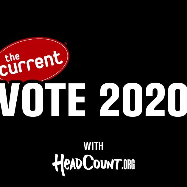 Vote 2020 from The Current and HeadCount - blk