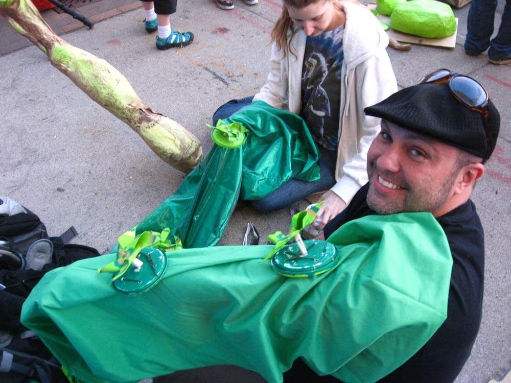 MayDay Parade prep