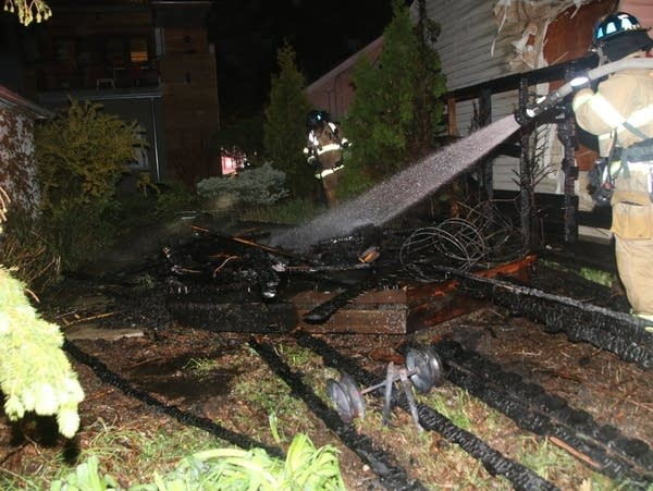 Nearly a dozen fires St. Paul fire officials say were deliberately set.