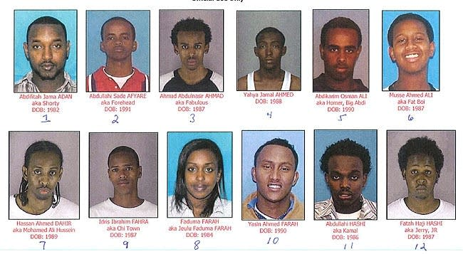 Somali sex ring suspects