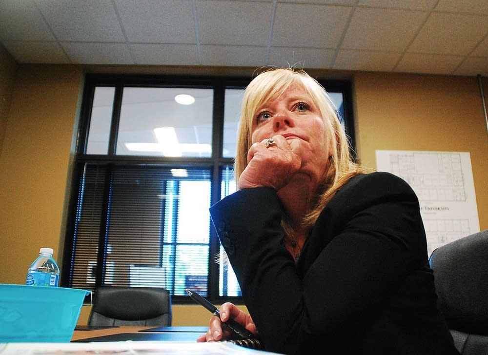 Globe CEO Jeanne Herrmann