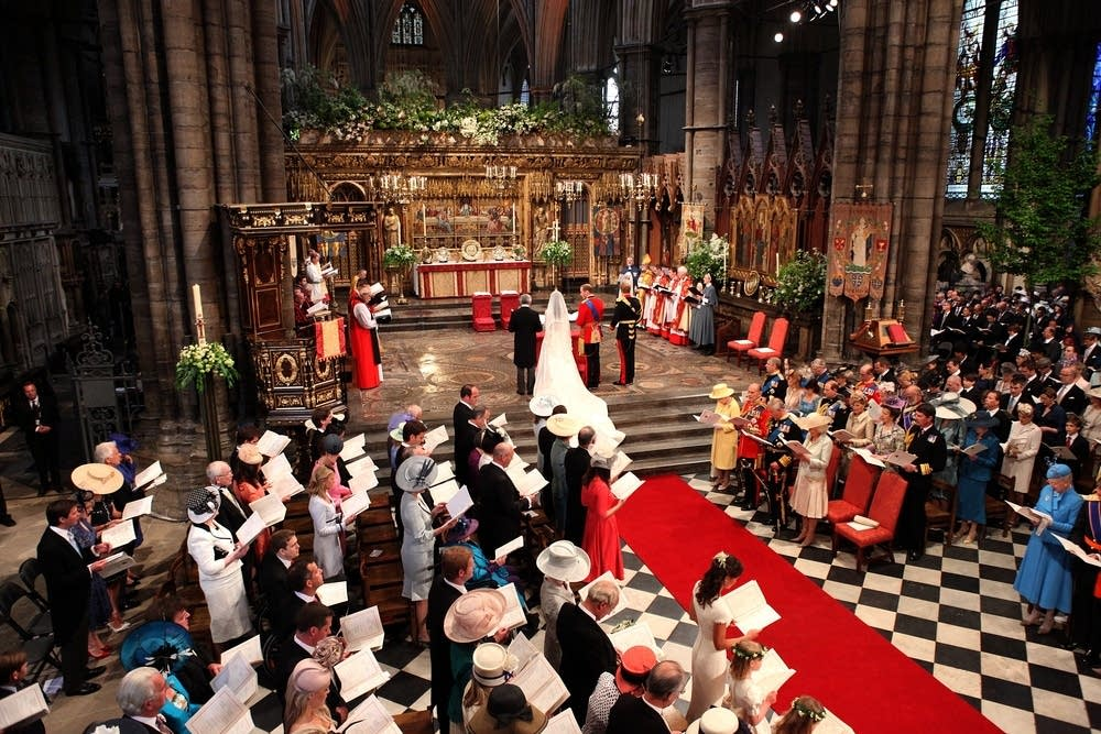 Royal Wedding - The Wedding Ceremony Takes Place I