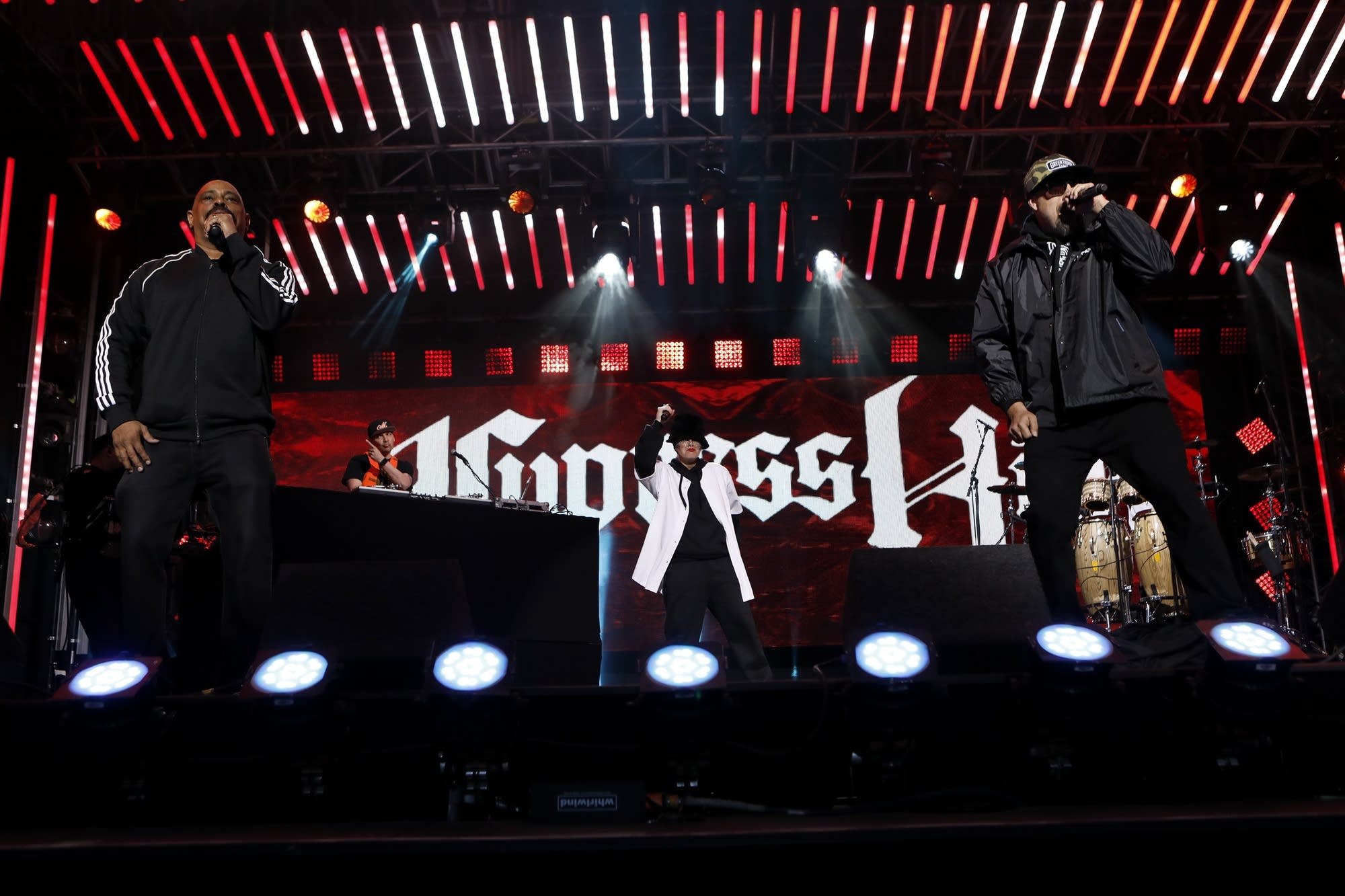 Cypress Hill perform on 'Jimmy Kimmel Live!'