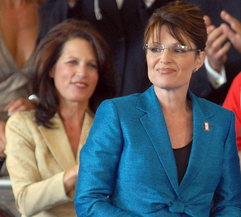 Bachmann and Palin