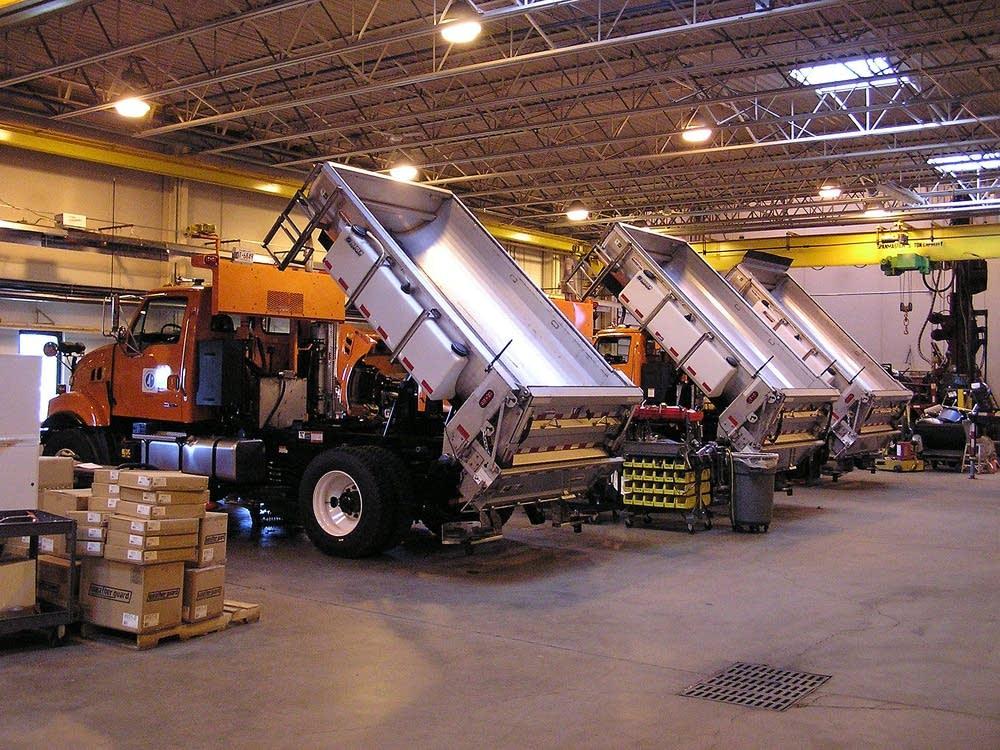 MnDOT biodiesel trucks