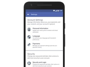 A redesign of Facebook's privacy tools.