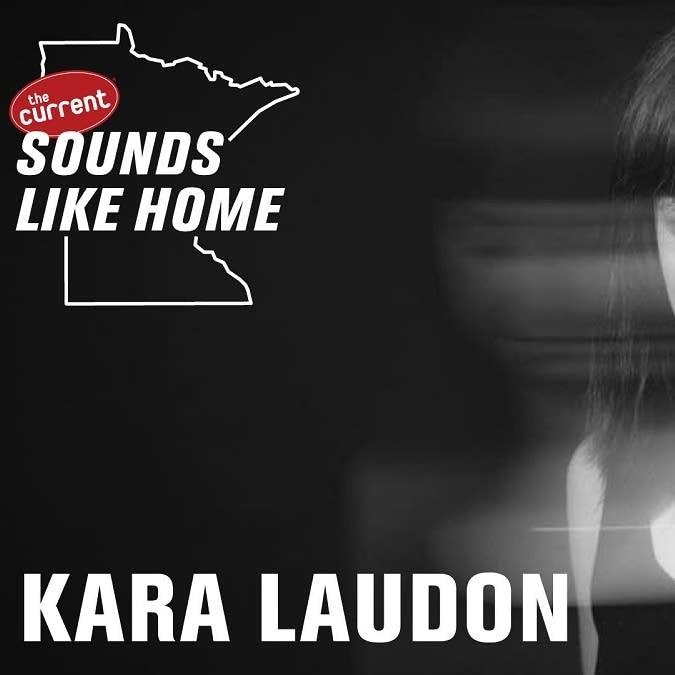 Digital flyer for Kara Laudon's Sounds Like Home performance.