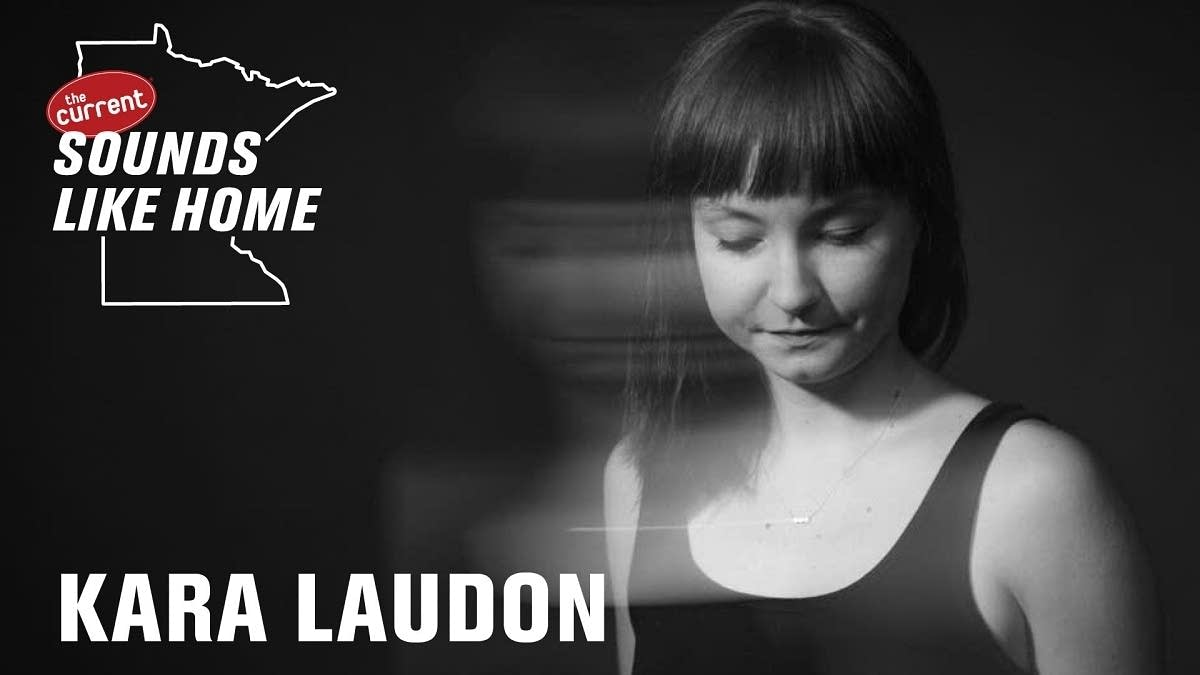 Digital flyer for Kara Laudon's Sounds Like Home performance.