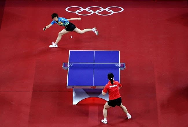 Olympics Day 14 - Table Tennis