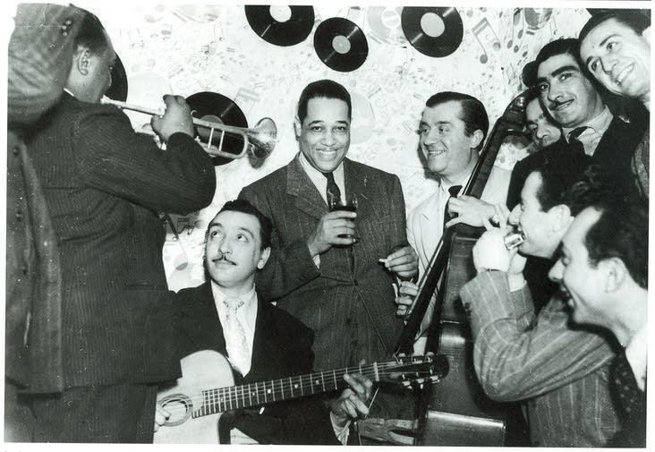 Django Reinhardt with Duke Ellington (1939)