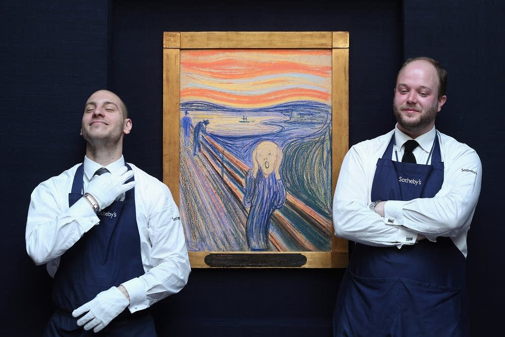 Edvard Munch's 'The Scream'