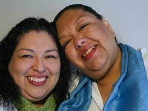 Candi and Estela Reyes