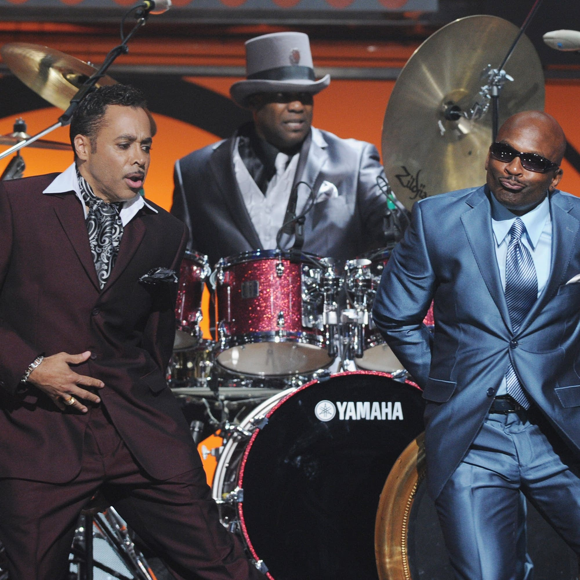 Morris Day, Jellybean Johnson and Jerome Benton of The Time