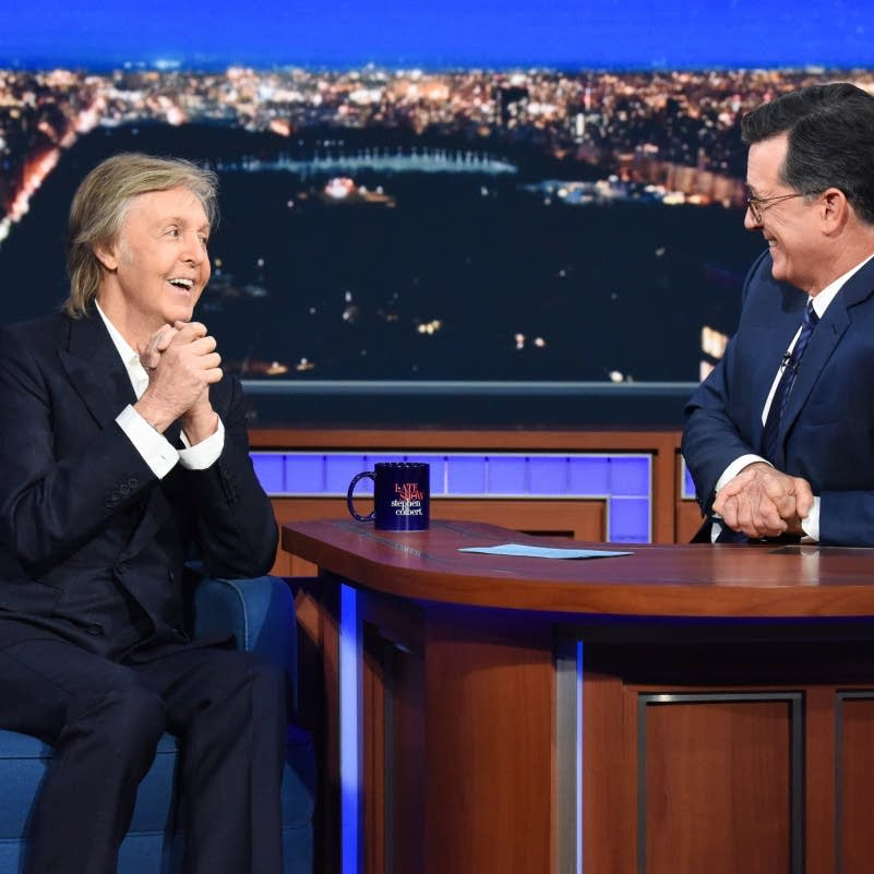 Paul McCartney on 'The Late Show with Stephen Colbert'