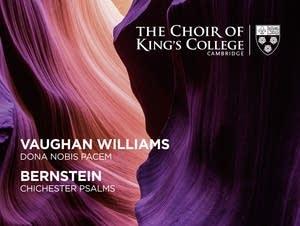 'Vaughan Williams: Dona Nobis Pacem; Bernstein: Chichester Psalms'