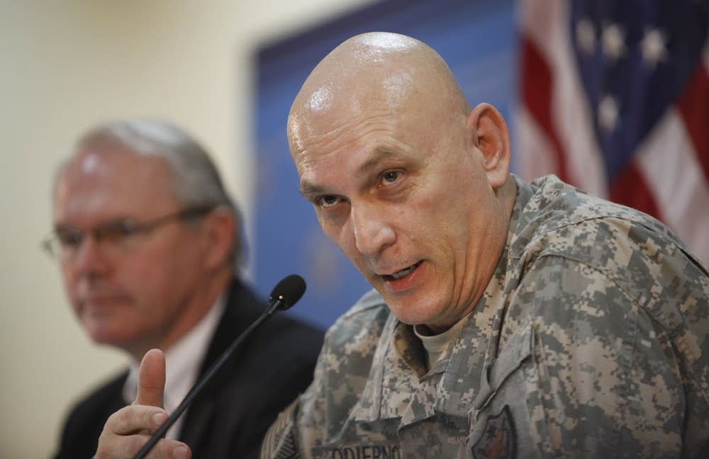 Ray Odierno, Christopher Hill